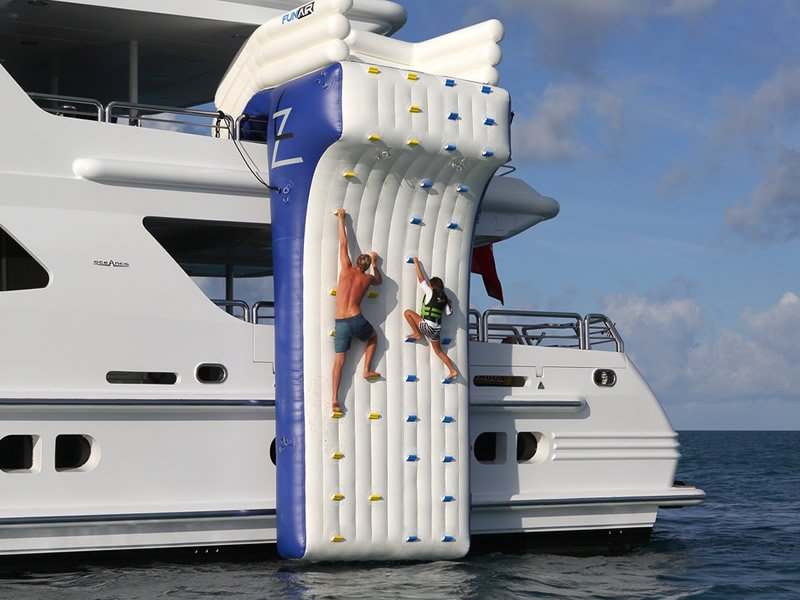 Climbing Wall Water Entry