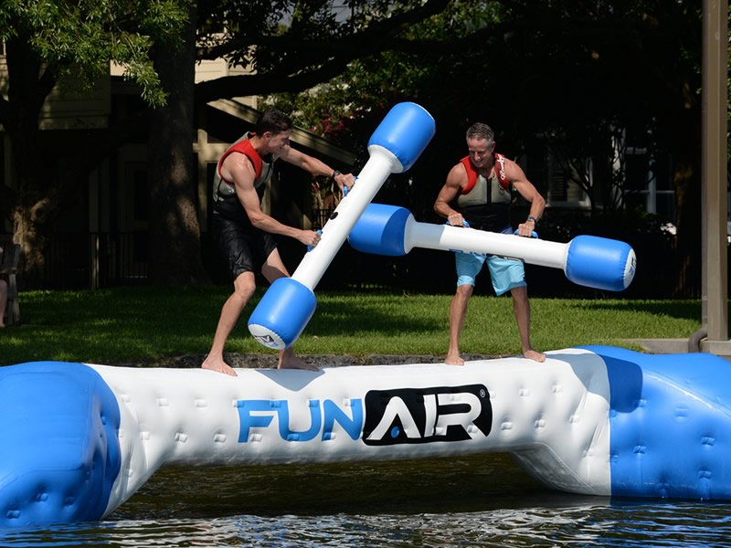 Inflatable Water Joust
